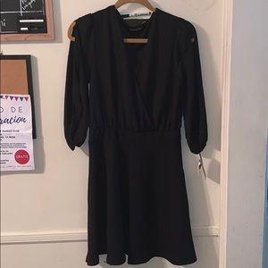 Impress black mini dress
